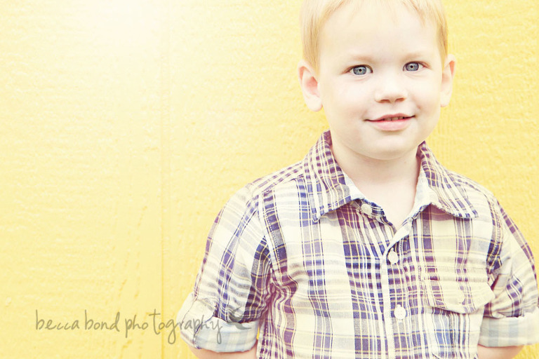Charlotte NC photographer makes portrait of a child outdoors at