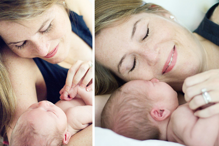 baby with mommy