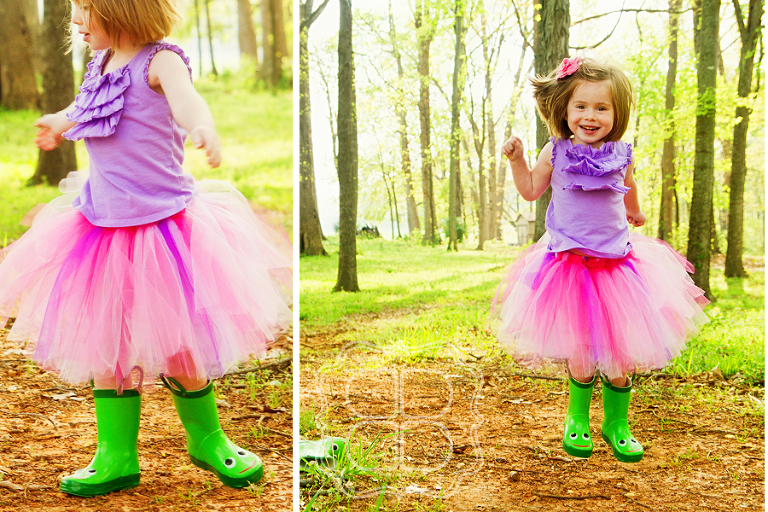 Twirl in rain boots by Charlotte's kids photographer Becca Bond