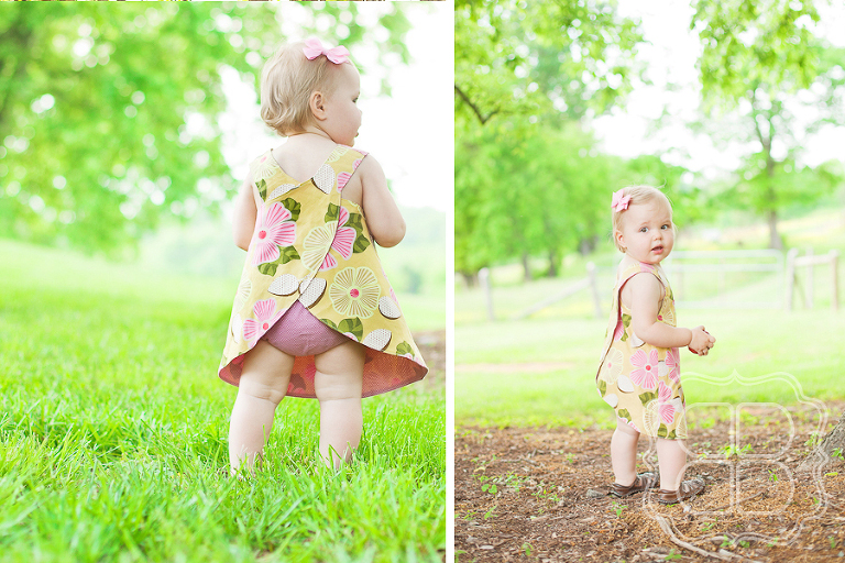 Baby toddler in cute outfit