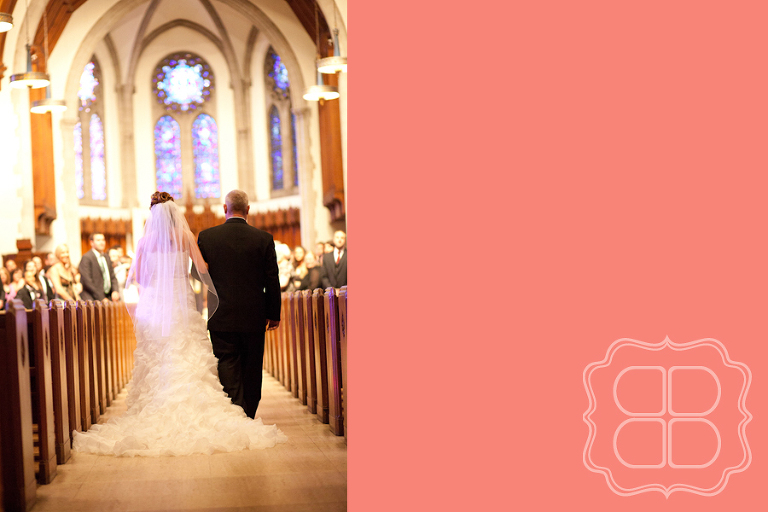 Wedding photos at Covenant Presby in Charlotte NC