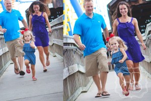 Family fun photo with children's photographer in Charlotte NC.