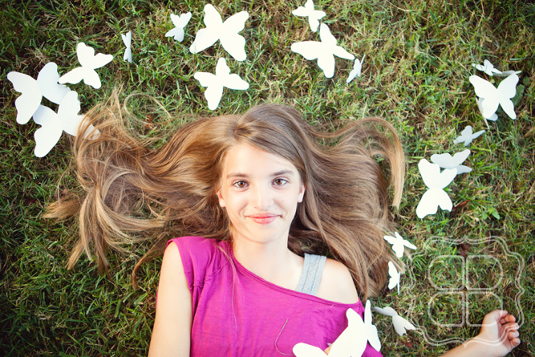 Whimsical portrait by Charlotte photographer