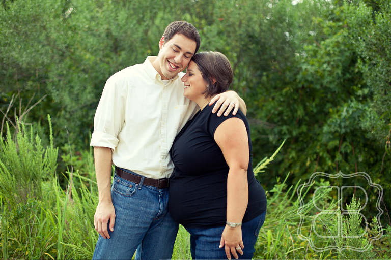 Maternity Photo by Charlotte Photographer