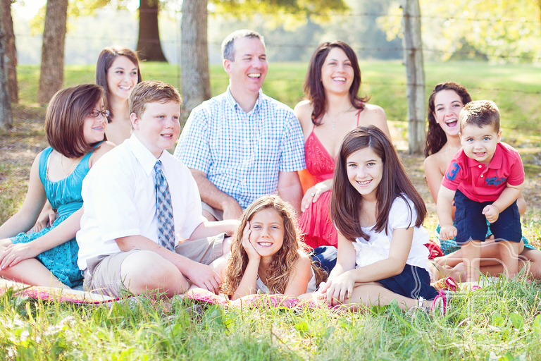 Family with seven children