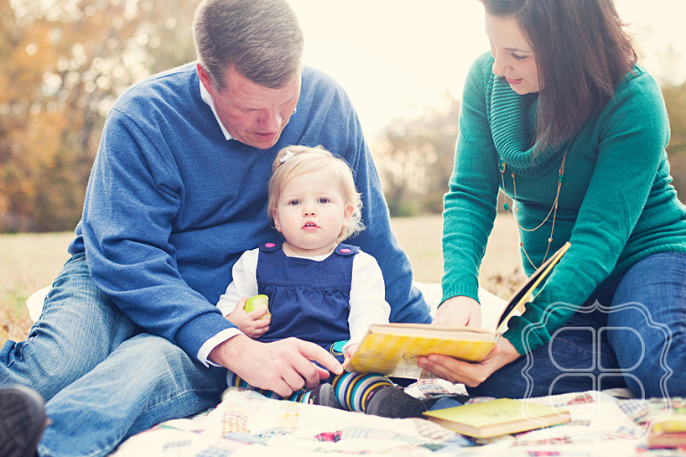 Professional portrait of a family in Charlotte NC