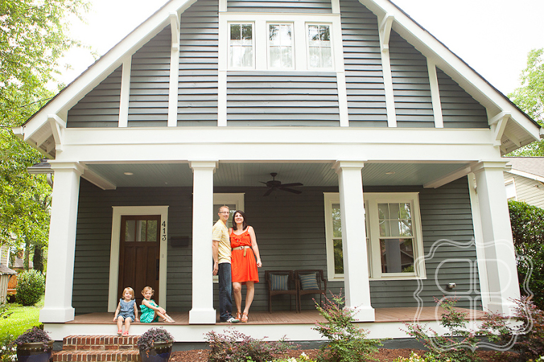 Wesley Heights bungalow with family