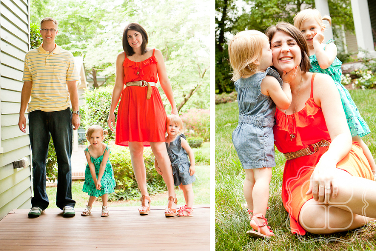 Charlotte photographer creates family pictures