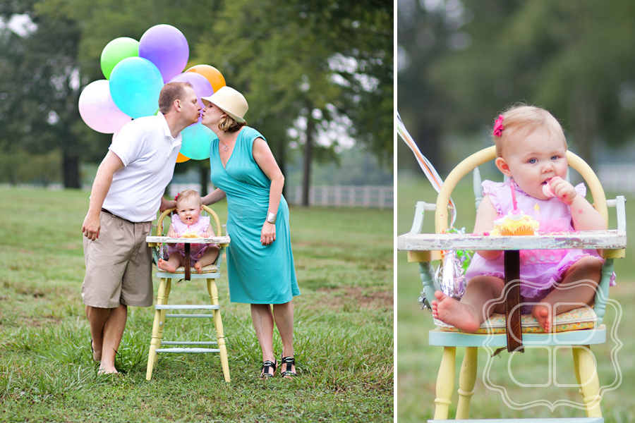 A Sweet First Birthday Babys Session Becca Bond Photography