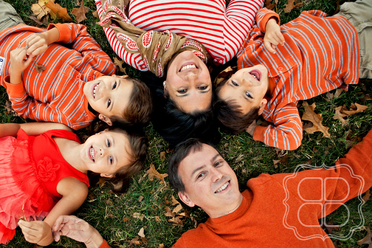 Charlotte professional photographers portrait of a family