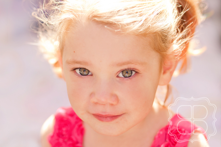 Toddler with beautiful eyes