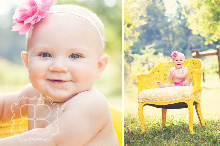 Baby portrait in Charlotte NC