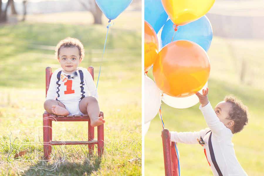 1 Year Young Charlotte Baby Family Photographer Becca Bond