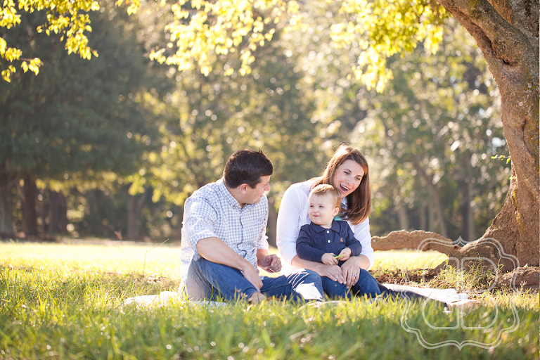 Family Photography at Anne Springs Greenway