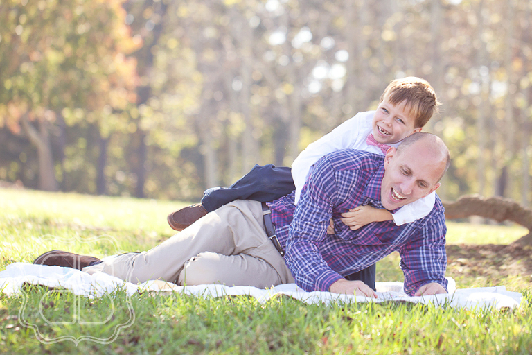 Playful family photography