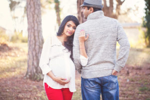 LIfestyle maternity photo shoot in Charlotte NC