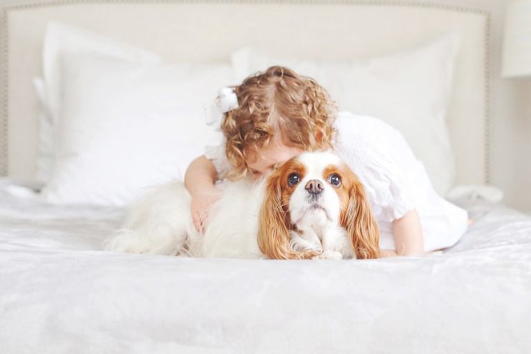 Family photography with pets