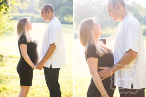 Expecting Charlotte couple photography