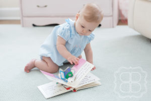 Lifestyle Photo of a cute Charlotte baby